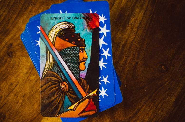 Tarot Knight of Swords